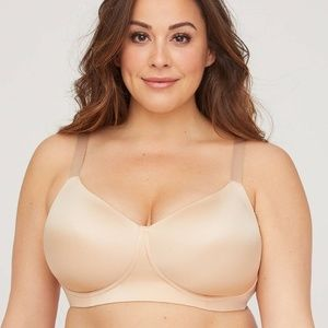 Catherines Perfect Fit No Wire T-Shirt Bra 42DDD